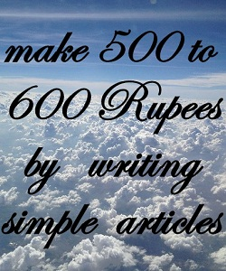 write articles
